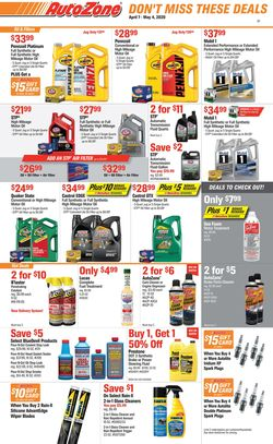 Catalogue Autozone from 04/07/2020