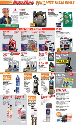 Catalogue Autozone from 05/05/2020