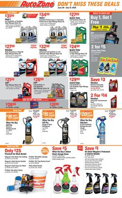 Catalogue Autozone from 06/30/2020