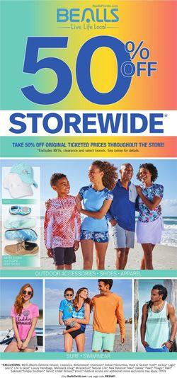 Catalogue Bealls Florida from 02/16/2020