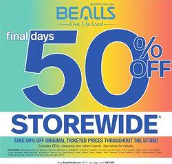 Catalogue Bealls Florida from 02/23/2020