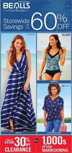 Catalogue Bealls Florida from 05/10/2020