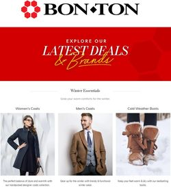 Current weekly ad BonTon