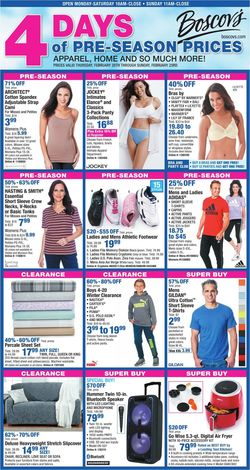 Catalogue Boscov's from 02/20/2020