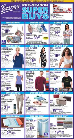 Catalogue Boscov's from 02/21/2020