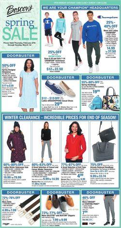 Catalogue Boscov's from 02/27/2020