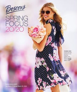 Catalogue Boscov's from 03/17/2020