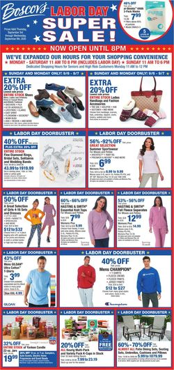 Catalogue Boscov's from 09/03/2020