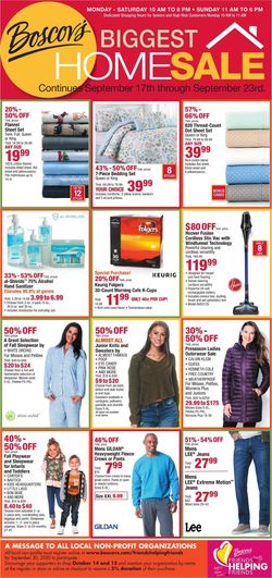Catalogue Boscov's from 09/17/2020