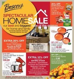 Catalogue Boscov's from 09/10/2020