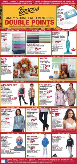 Catalogue Boscov's from 09/28/2020