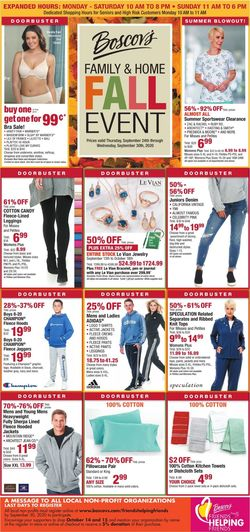 Catalogue Boscov's from 09/24/2020