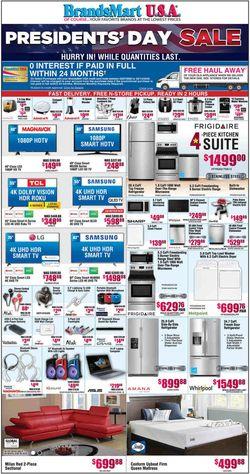 Catalogue Brandsmart USA from 02/07/2020
