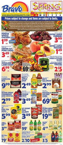 Catalogue Bravo Supermarkets from 05/29/2020