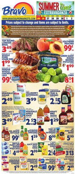 Catalogue Bravo Supermarkets from 06/26/2020