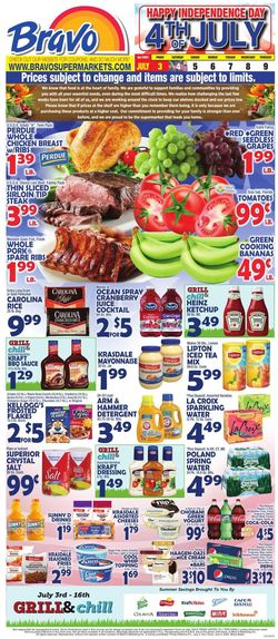 Catalogue Bravo Supermarkets from 07/03/2020