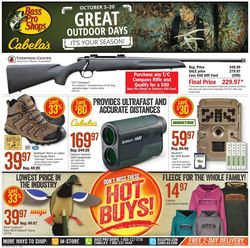 Catalogue Cabela's from 10/03/2019