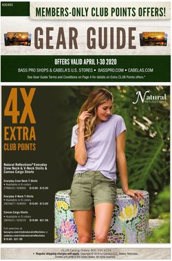 Catalogue Cabela's from 04/01/2020