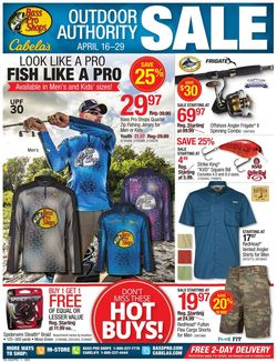 Catalogue Cabela's from 04/16/2020