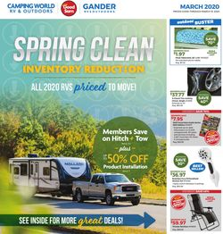 Catalogue Camping World from 02/24/2020