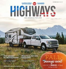 Catalogue Camping World from 09/28/2020