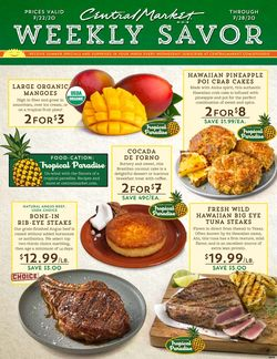 Catalogue Central Market from 07/22/2020