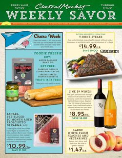 Catalogue Central Market from 07/29/2020