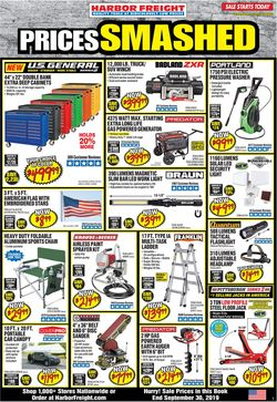 Catalogue Harbor Freight from 09/01/2019