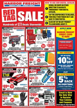Catalogue Harbor Freight from 08/01/2020