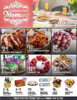Current weekly ad Harmons
