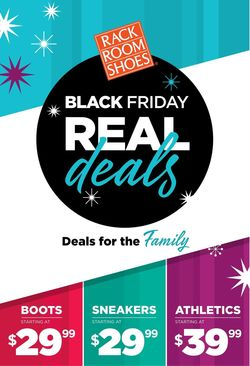 Catalogue Rack Room Shoes - Black Friday Ad 2019 from 11/20/2019