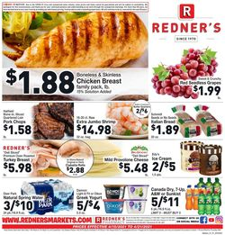 Catalogue Redner's Warehouse Market from 04/15/2021