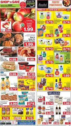 Current weekly ad Shop 'n Save (Pittsburgh)