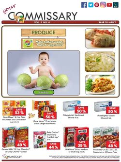 Commissary weekly-ad