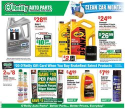 O'Reilly Auto Parts weekly-ad