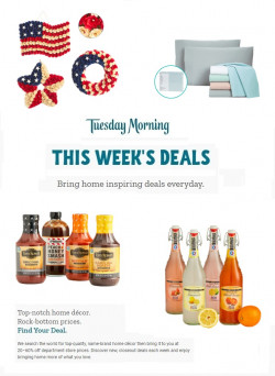 Tuesday Morning weekly-ad
