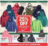 Catalogue Academy Sports - Early Black Friday 2019 from 11/24/2019