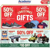 Catalogue Academy Sports - Christmas Ad 2019 from 12/16/2019