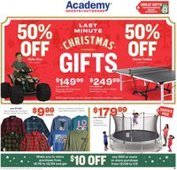 Catalogue Academy Sports from 12/18/2019