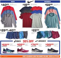 Catalogue Academy Sports from 12/26/2019