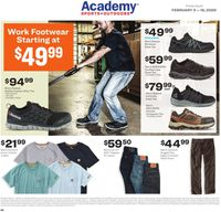 Catalogue Academy Sports from 02/03/2020