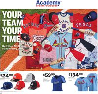 Catalogue Academy Sports from 03/16/2020