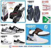 Catalogue Academy Sports from 05/11/2020
