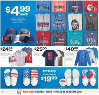Catalogue Academy Sports from 06/22/2020