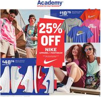 Catalogue Academy Sports from 08/03/2020