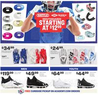 Catalogue Academy Sports from 08/10/2020