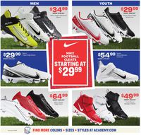 Catalogue Academy Sports from 08/24/2020