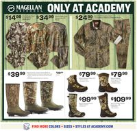 Catalogue Academy Sports from 08/30/2020