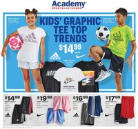 Catalogue Academy Sports from 08/31/2020