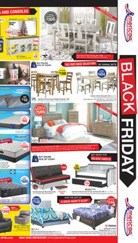 Catalogue American Furniture Warehouse - Black Friday Ad 2019 from 11/28/2019